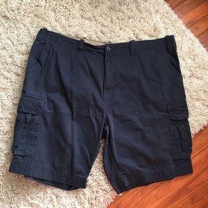The FOUNDRY SUPPLY CO. Navy Cargo Shorts Size: 48